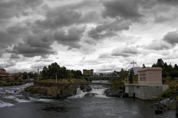 Expo 74 Photograph - Stormy Falls Of Spokane by Daniel Hagerman
