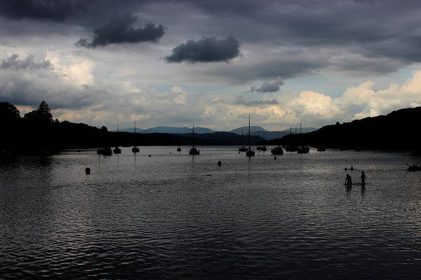 Stormcloud Photograph - Stormy Lakes by Martin Newman