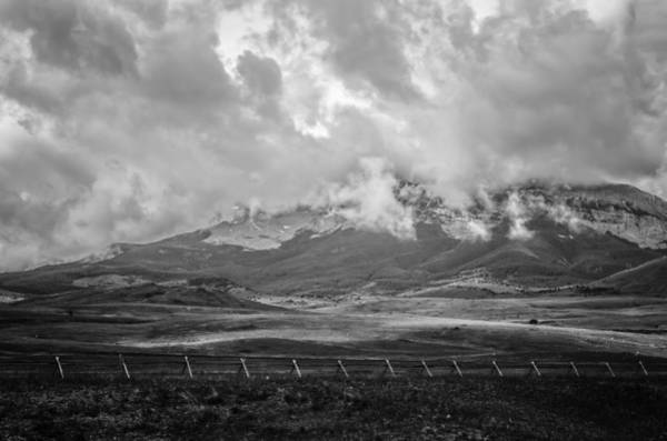 Photograph - Stormy Mountains 2 by Thomas Young