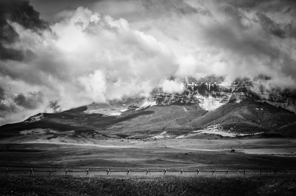 Photograph - Stormy Mountains 1 by Thomas Young