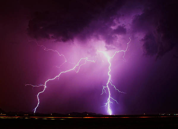 Photograph - Stormy Night by Broderick Delaney