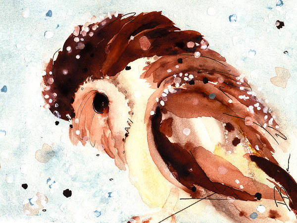 Painting - Stormy Night by Dawn Derman