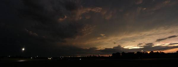 Photograph - Stormy Night by William Johnson