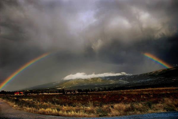 Tormenta Wall Art - Photograph - Stormy Rainbow by Three MagicFingers