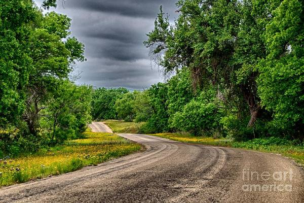 Photograph - Stormy Road by Ken Williams