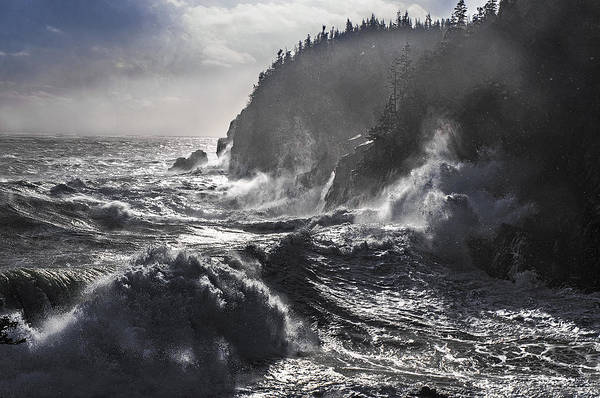 Wall Art - Photograph - Stormy Seas At Gulliver's Hole by Marty Saccone