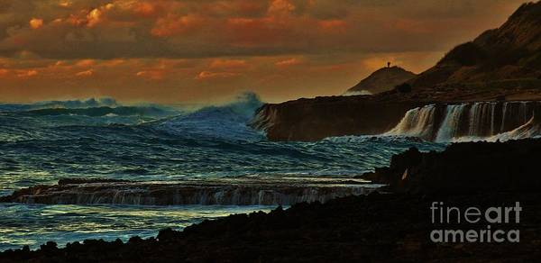 Kaena Photograph - Stormy Seas by Craig Wood