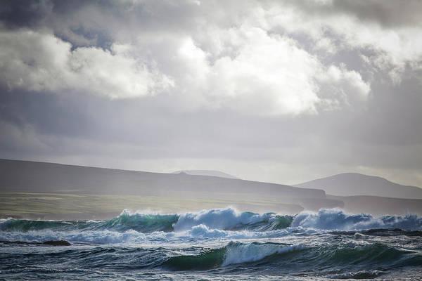 Wall Art - Photograph - Stormy Seas On Ireland S Wild Atlantic by Peter McCabe