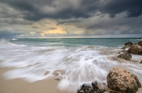 Wall Art - Photograph - Stormy Sky And Ocean Sunrise by Tin Lung Chao