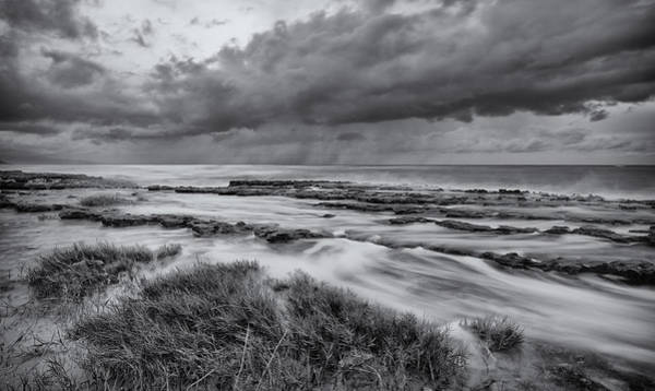Wall Art - Photograph - Stormy Sky And Sea by Tin Lung Chao