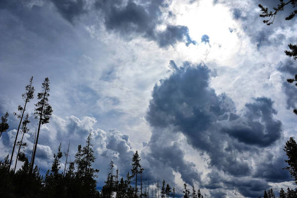 Photograph - Stormy Sky by Harry Spitz