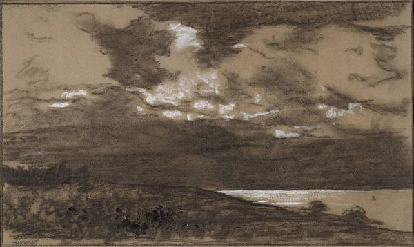 Wall Art - Painting - Stormy Sky by Winslow Homer