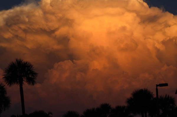 Photograph - Stormy Sunset by AnnaJo Vahle