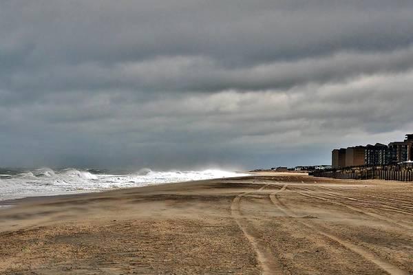 Photograph - Stormy Surf - Bethany Beach - Delaware by Kim Bemis
