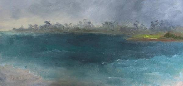 Gulf State Park Painting - Stormy Weather by Susan Richardson