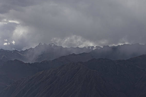 Storm Over The Andes Art Print