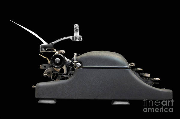 Typewriters Wall Art - Photograph - Storyteller by Dan Holm