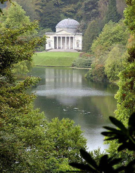 Stourhead Photograph - Stourhead Gardens by Fred Whalley