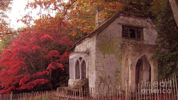 Stourhead Photograph - Stourhead Gardens In Autumn by Saphire Ovadia