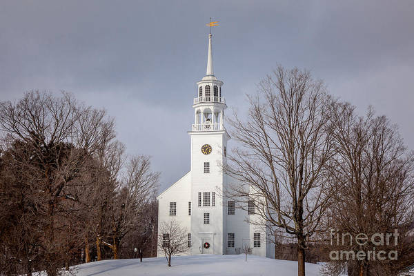 Photograph - Strafford Vermont Town Hall by Susan Cole Kelly