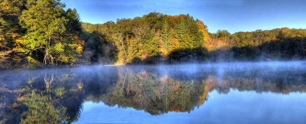 Photograph - Strahl Lake Brown County Sp by Walt Sterneman