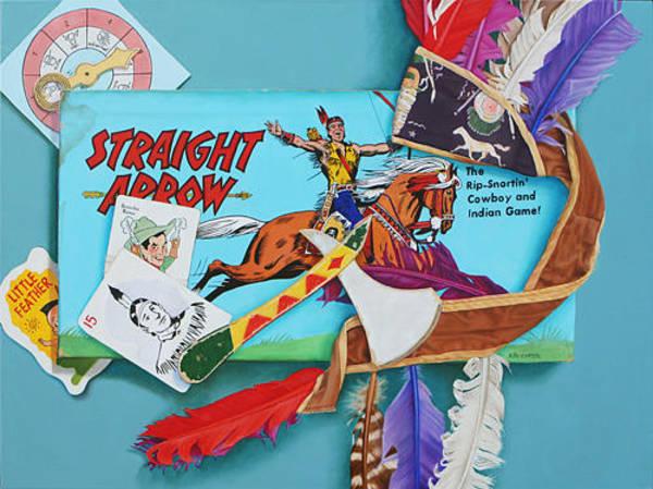 Wall Art - Painting - Straight Arrow By K Henderson by K Henderson