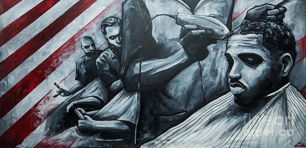 Clipper Wall Art - Painting - Straight Cutttin by Shop Aethetiks