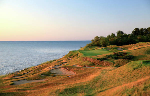 Sport Venue Photograph - Straits Course At Whistling Straits by David Cannon