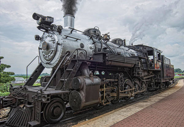 Wall Art - Photograph - Strasburg Steam Train by Dave Sandt