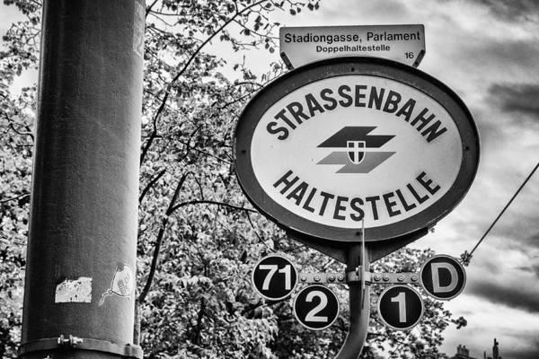 Photograph - Strassenbahn Haltestelle by Pablo Lopez