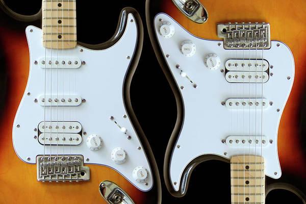 Wall Art - Photograph - Electric Guitar 6 by Mike McGlothlen