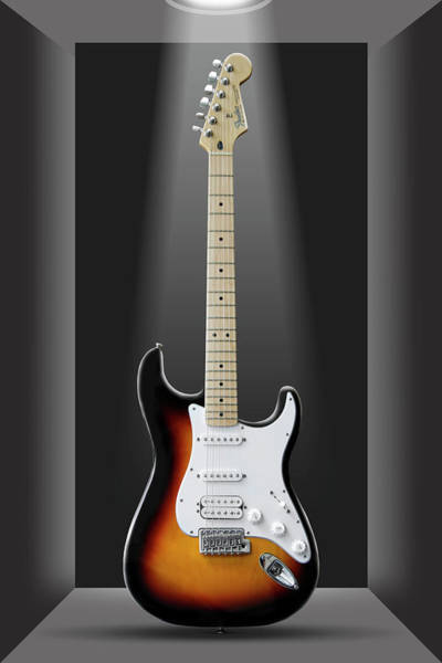 Electric Guitar Photograph - A Classic In A Box by Mike McGlothlen