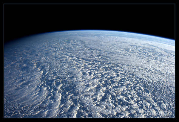 Photograph - Stratocumulus Clouds Over Pacific Nasa by Rose Santuci-Sofranko