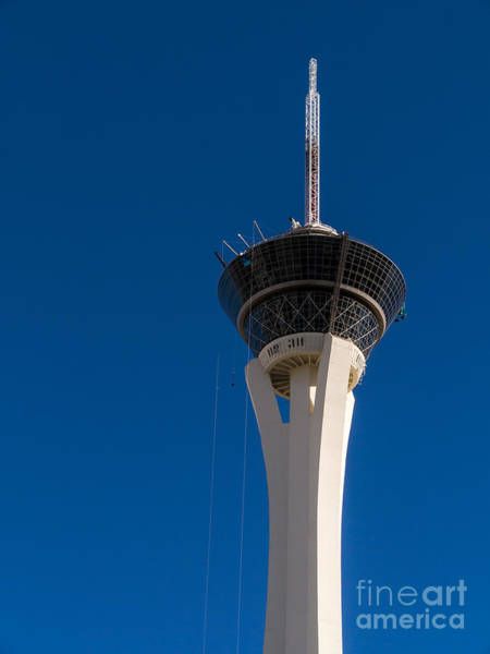 Stratosphere Wall Art - Photograph - Stratosphere Las Vegas by Edward Fielding