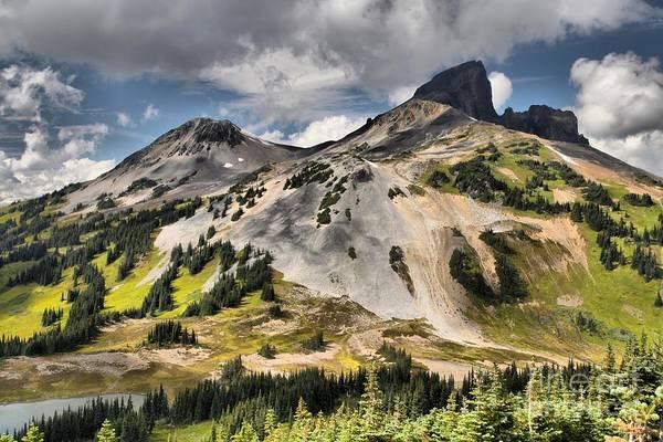 Photograph - Stratovolcano At Garibaldi Provincial Park by Adam Jewell