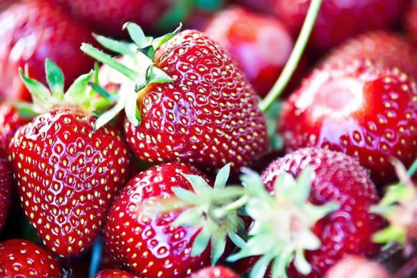 Photograph - Strawberries by Alex Grichenko