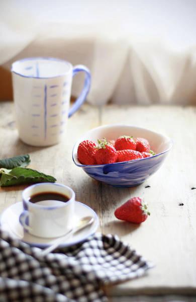Mug Photograph - Strawberry by 200