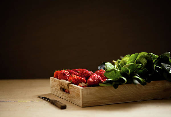 Municipality Photograph - Strawberry And Cole by Feryersan
