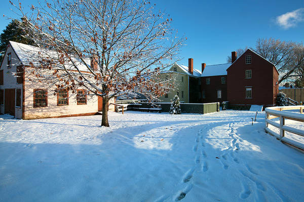Wall Art - Photograph - Strawbery Banke Snow by Eric Gendron