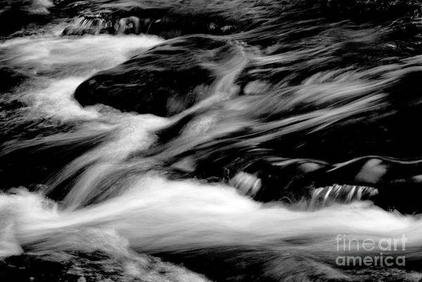 Photograph - Stream In Bw by Paul W Faust -  Impressions of Light