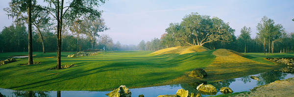 Gainesville Photograph - Stream On A Golf Course, Haile by Panoramic Images