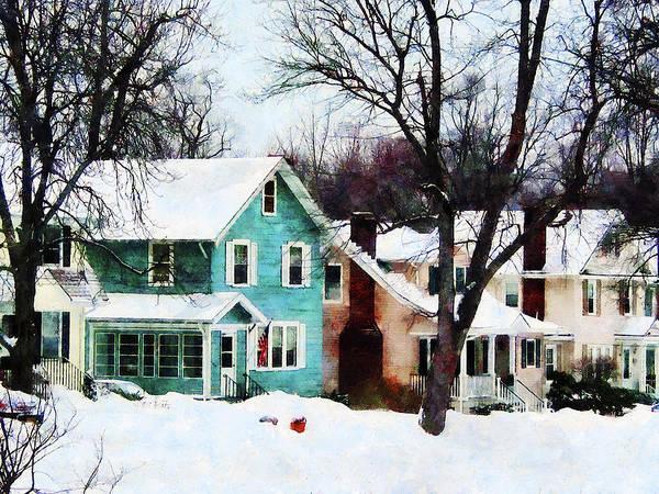Photograph - Street After Snow by Susan Savad