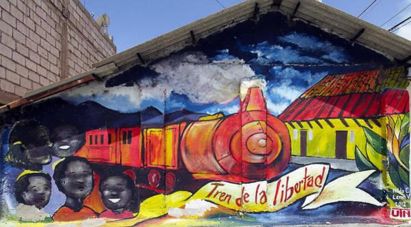La Libertad Photograph - Street Art Ecuador Salinas 4 by Kurt Van Wagner