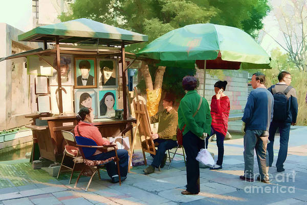 Photograph - Street Artist by Yew Kwang