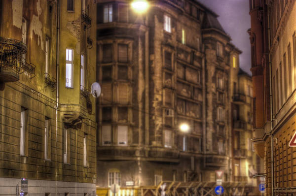 Famous Places Digital Art - Street Corner Budapest by Nathan Wright