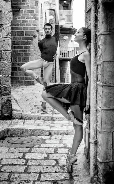 Old Town Photograph - Street Dance by Ohad Falik