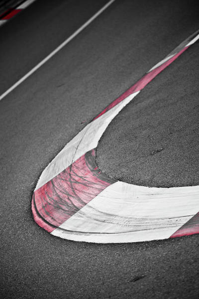 Motor Sport Photograph - Street Detail In The Principality Of by Carlos Sanchez Pereyra