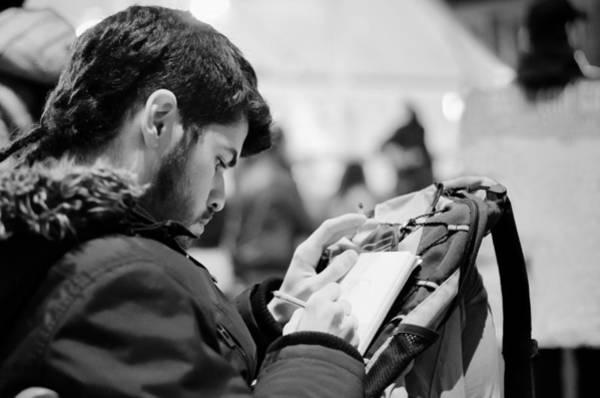 Photograph - Street Artist by Pablo Lopez
