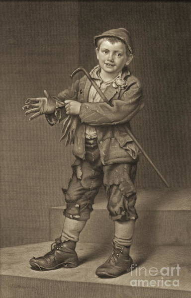 Ragamuffin Photograph - Street Dude 1884 by Padre Art