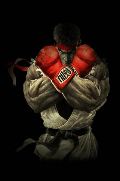 Digital Art - Street Fighter by Movie Poster Prints